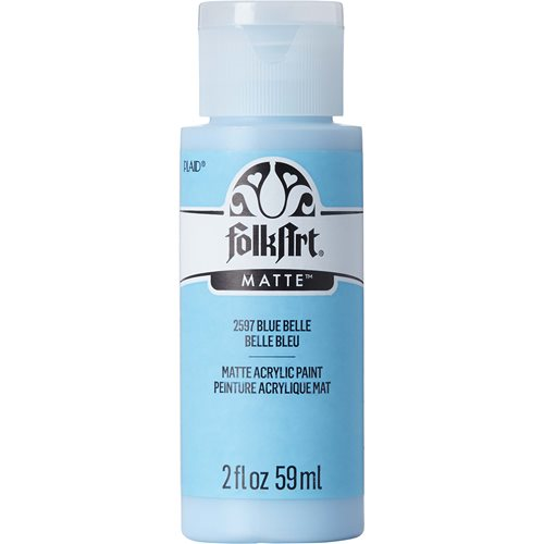FolkArt ® Acrylic Colors - Blue Belle, 2 oz.