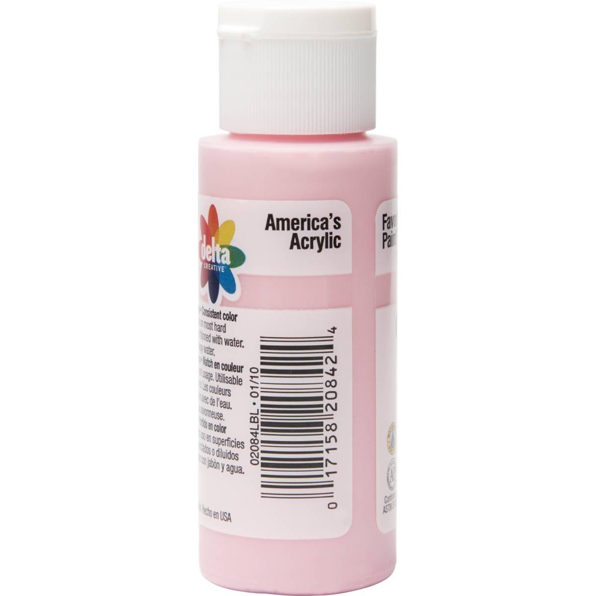 Delta Ceramcoat ® Acrylic Paint - Lisa Pink, 2 oz.