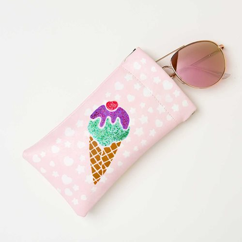 Ice Cream Sunglass Case