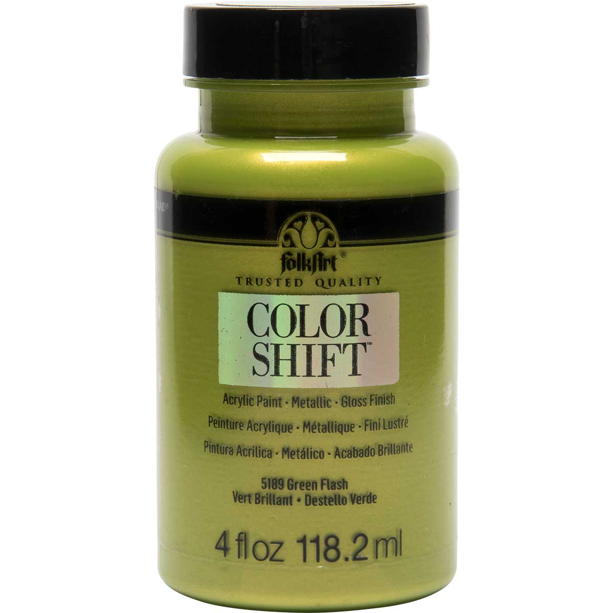 FolkArt ® Color Shift™ Acrylic Paint - Green Flash, 4 oz.