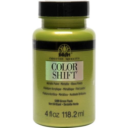 FolkArt ® Color Shift™ Acrylic Paint - Green Flash, 4 oz.