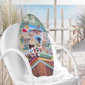 Summer Memories Surfboard Craft Idea