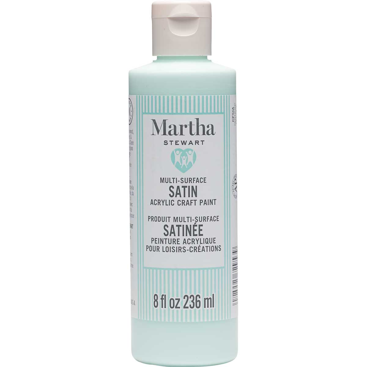 Martha Stewart® 8oz Multi-Surface Satin Acrylic Craft Paint - Kiddie Pool