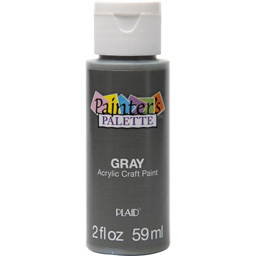 Plaid ® Painter's Palette™ Acrylic Paint - Gray, 2 oz.