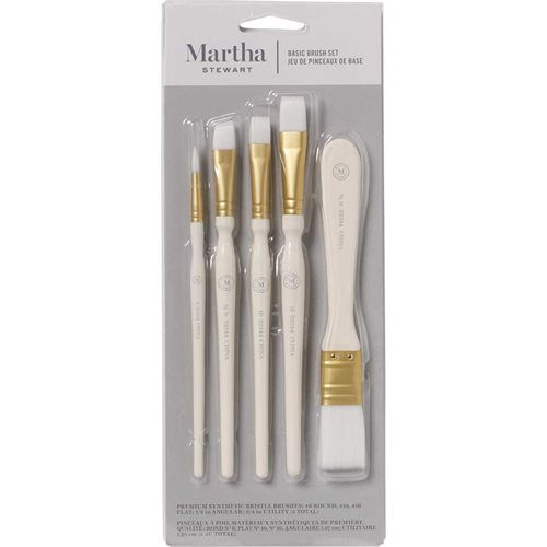 Martha Stewart ® Brush Sets - Basic Brush Set - 5 pc.