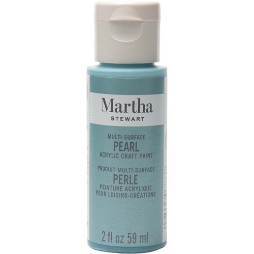Martha Stewart ® Multi-Surface Pearl Acrylic Craft Paint - Aquarium, 2 oz. - 32123CA