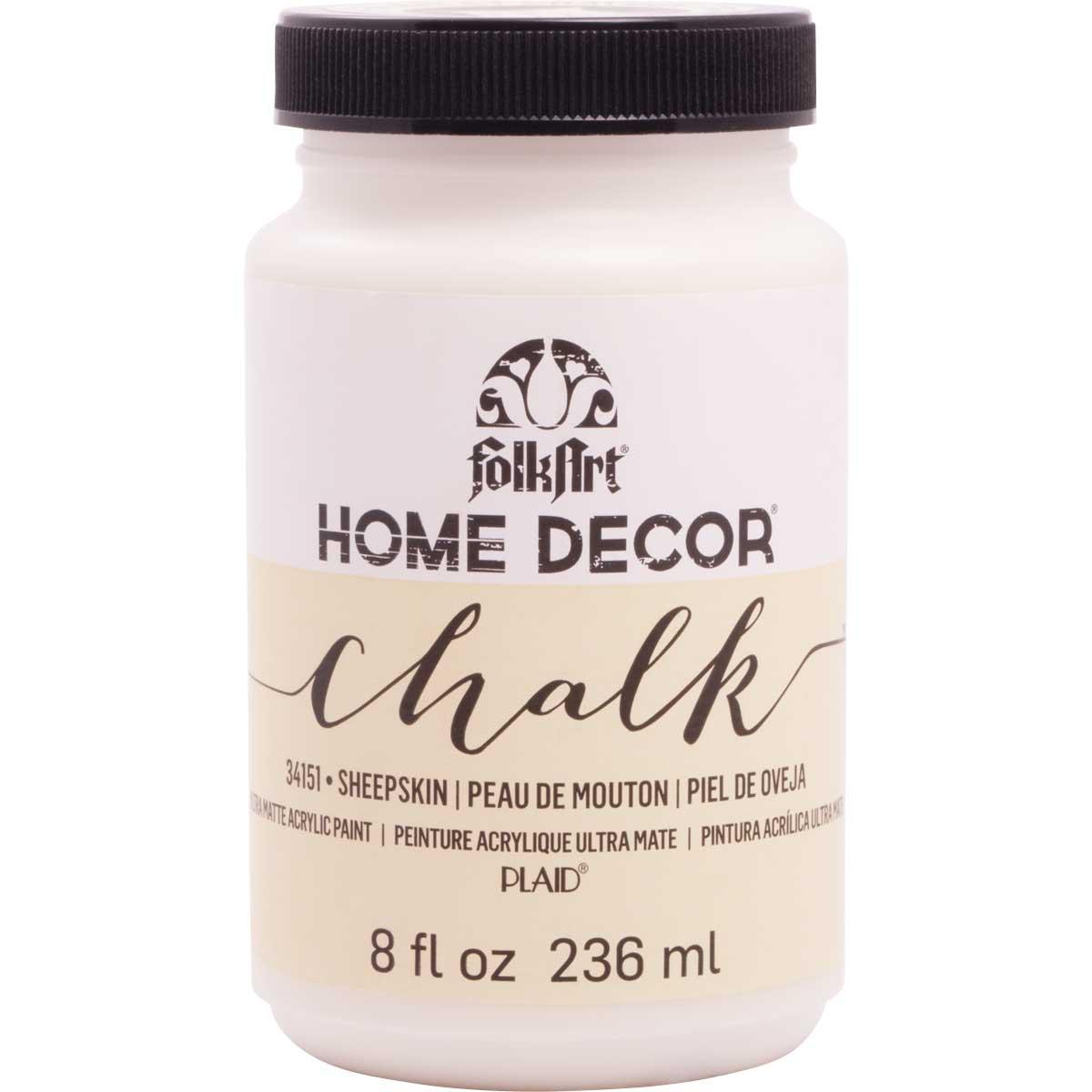 FolkArt ® Home Decor™ Chalk - Sheepskin, 8 oz.