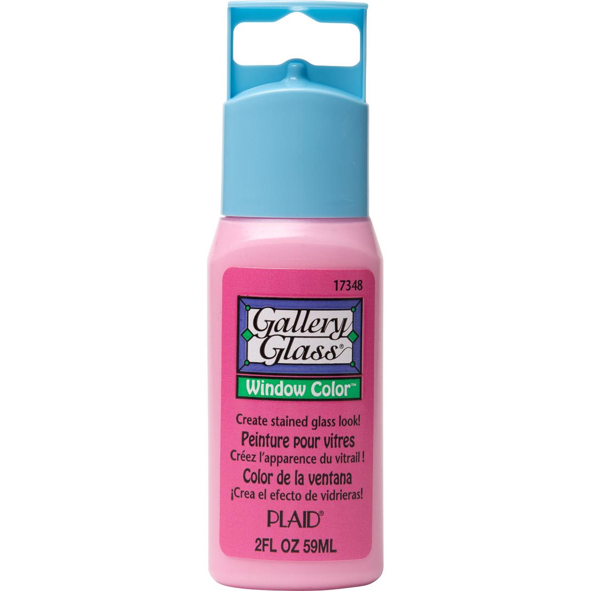 Gallery Glass ® Window Color™ - Princess Pink, 2 oz.