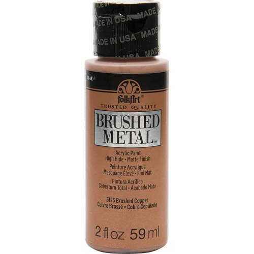 FolkArt ® Brushed Metal™ Acrylic Paint - Copper, 2 oz. - 5125