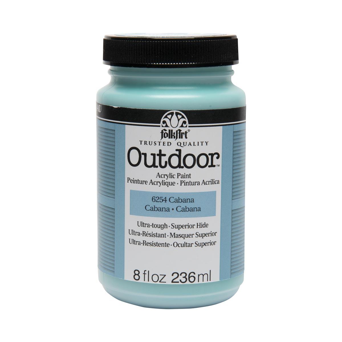 FolkArt ® Outdoor™ Acrylic Colors - Cabana, 8 oz.