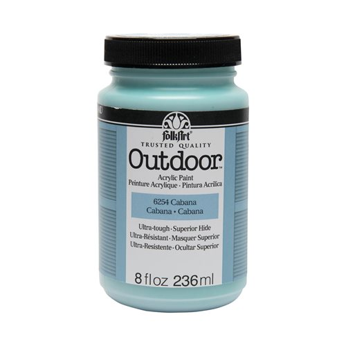 FolkArt ® Outdoor™ Acrylic Colors - Cabana, 8 oz.