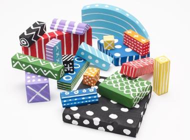 Simple Crafts for Kids - Scrap Wood Blocks