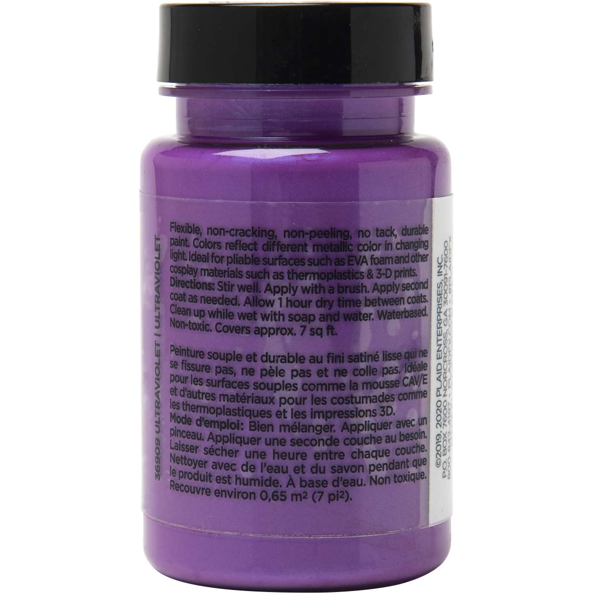 PlaidFX Mutant Shift Flexible Acrylic Paint - Ultraviolet, 3 oz. - 36909