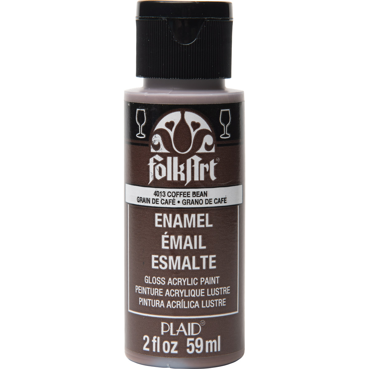 FolkArt ® Enamels™ - Coffee Bean, 2 oz. - 4013