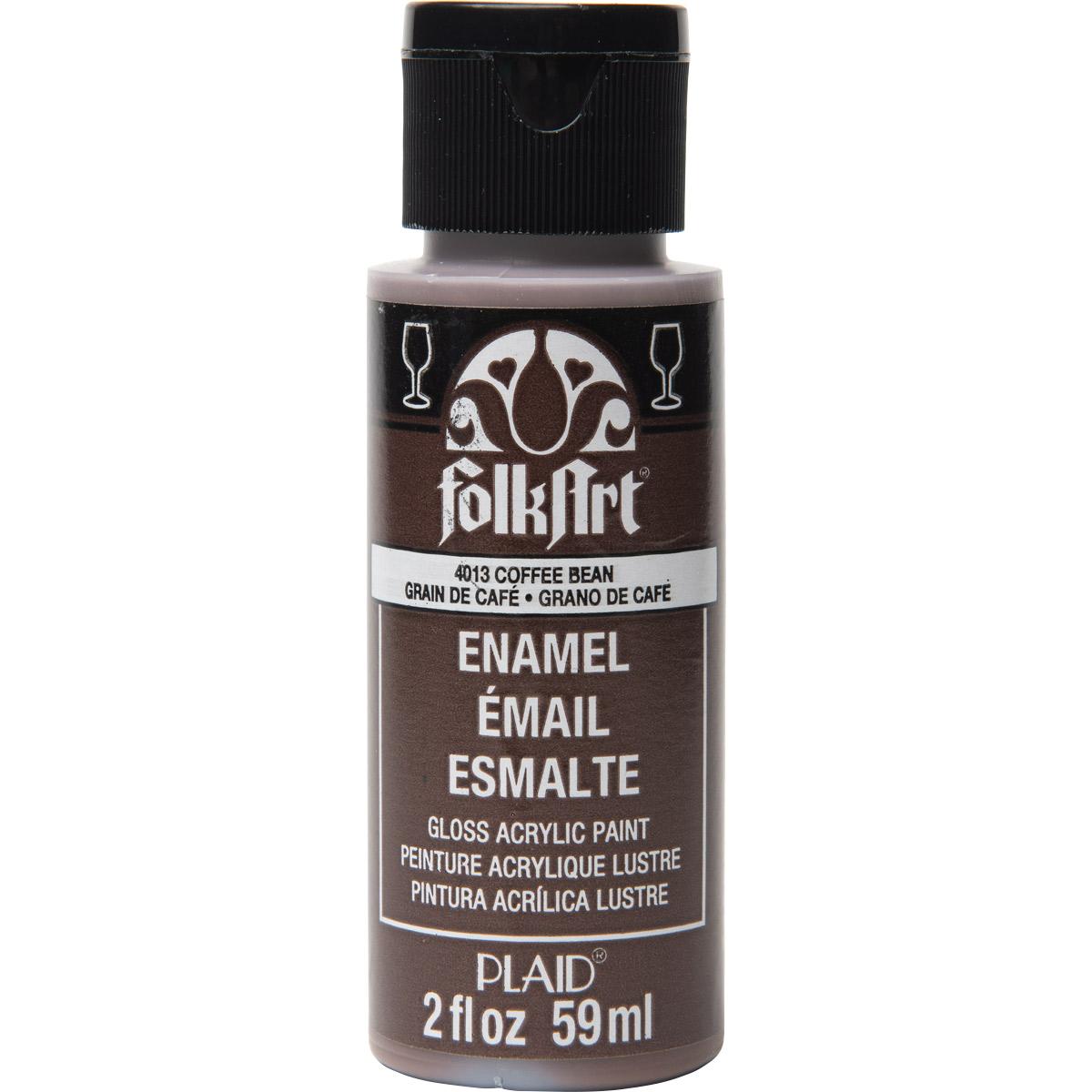 FolkArt ® Enamels™ - Coffee Bean, 2 oz.