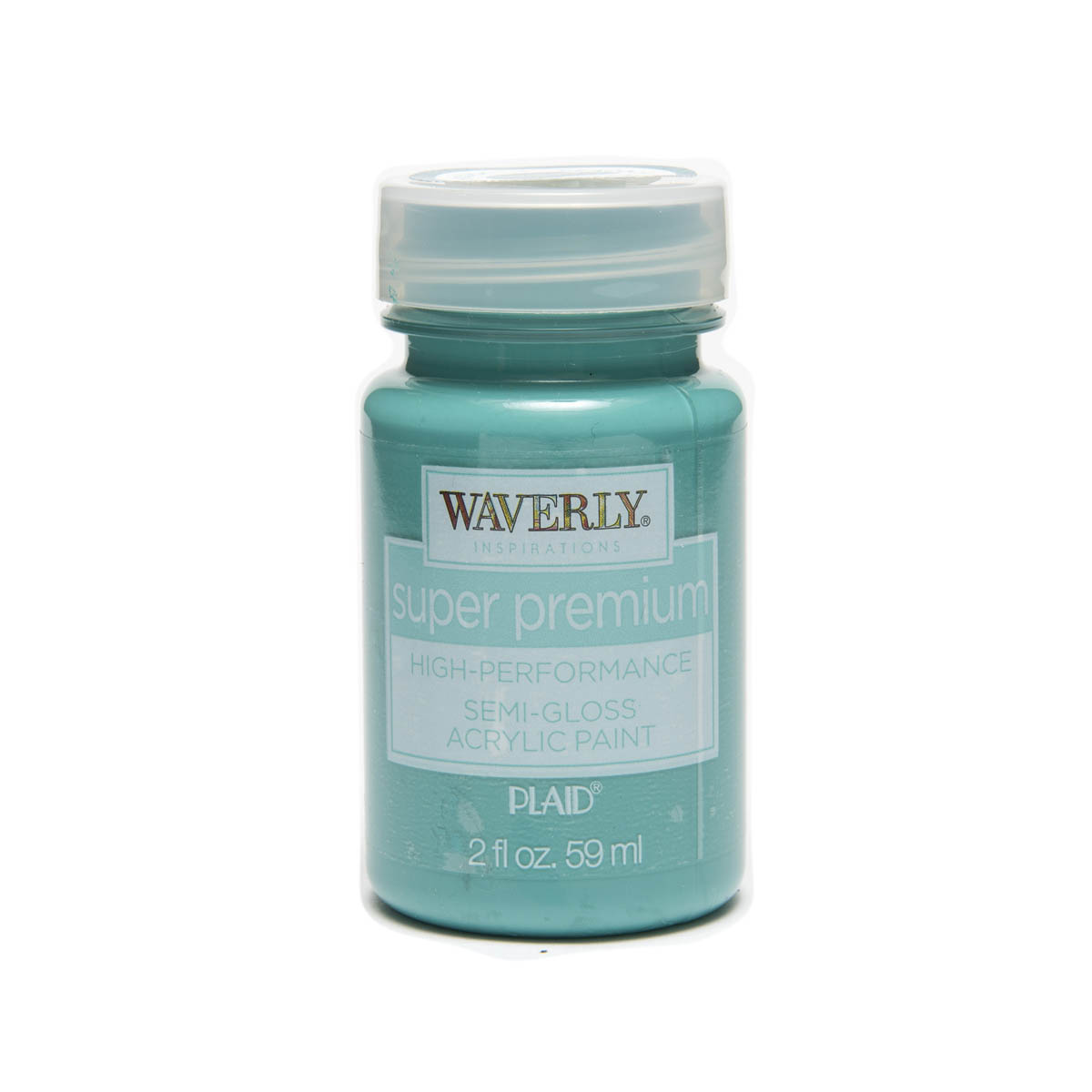 Waverly ® Inspirations Super Premium Semi-Gloss Acrylic Paint - Peacock, 2 oz. - 60638E