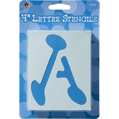 Plaid ® Stencils - Value Packs - Letter Stencils - Liquid Ink