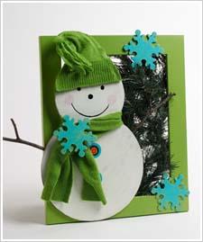 Snowman Wreath Frame