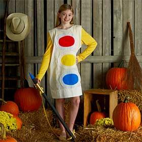 Quick DIY Paint Palette Halloween Costume