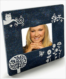 Friendly Forest Glitter Frame
