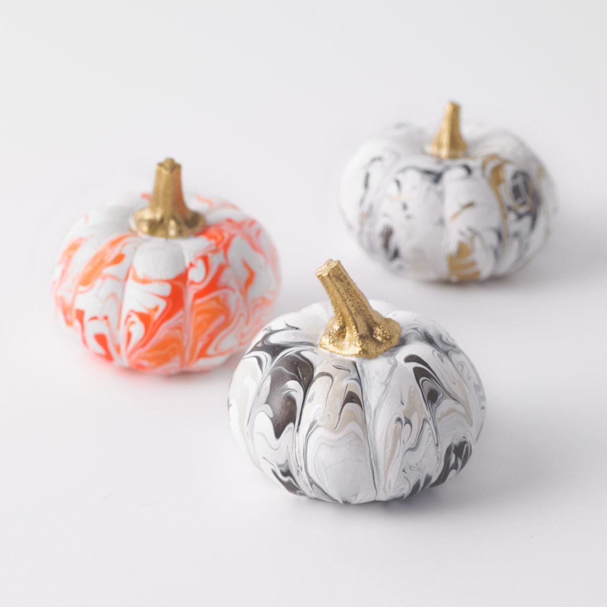Mini Poured Pumpkins