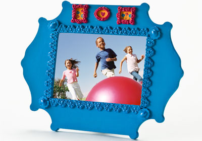 Medallion Picture Frame
