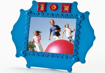Medallion Picture Frame