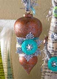 Winter Wonderland Snowflake Ornament