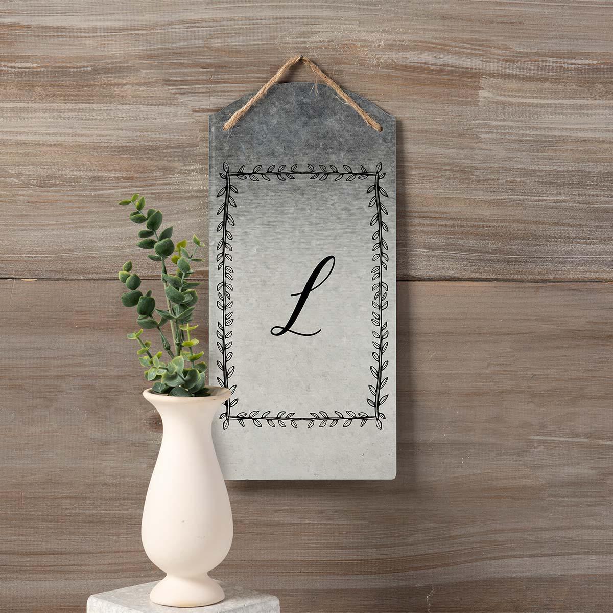 FolkArt ® Sign Shop™ Mesh Stencil - Rectangular Wreath, 2 pc. - 63358