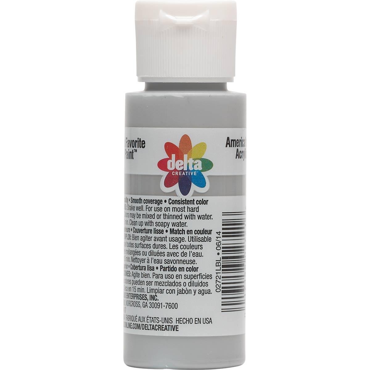 Delta Ceramcoat ® Acrylic Paint - Cableknit Gray, 2 oz.