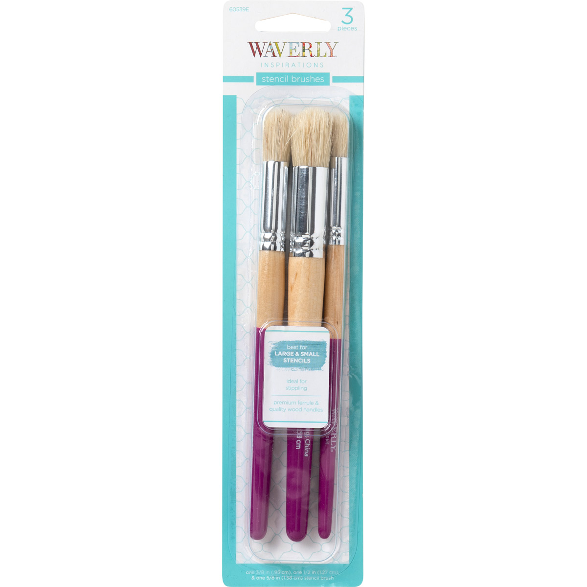 Waverly ® Inspirations Brushes - Stencil Set, 3 pc. - 60539E