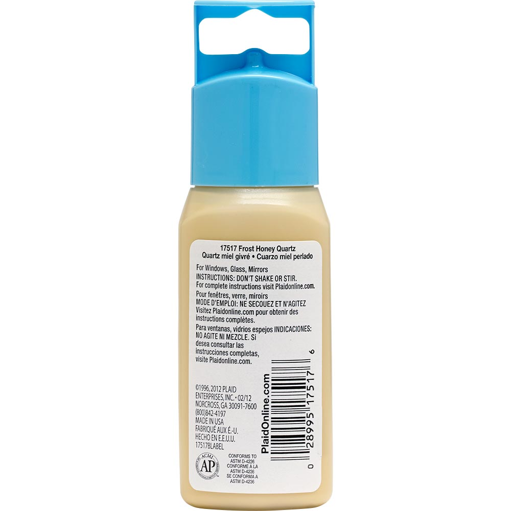Gallery Glass ® Window Color™ - Honey Quartz Frost, 2 oz.