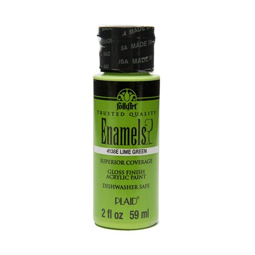 FolkArt ® Enamels™ - Lime Green, 2 oz. - 4138