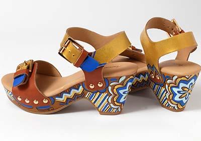 Boho Platform Sandals