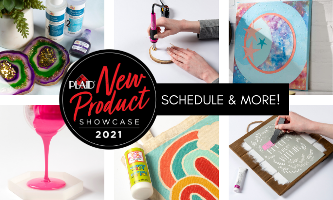 New Product Showcase Schedule & More!
