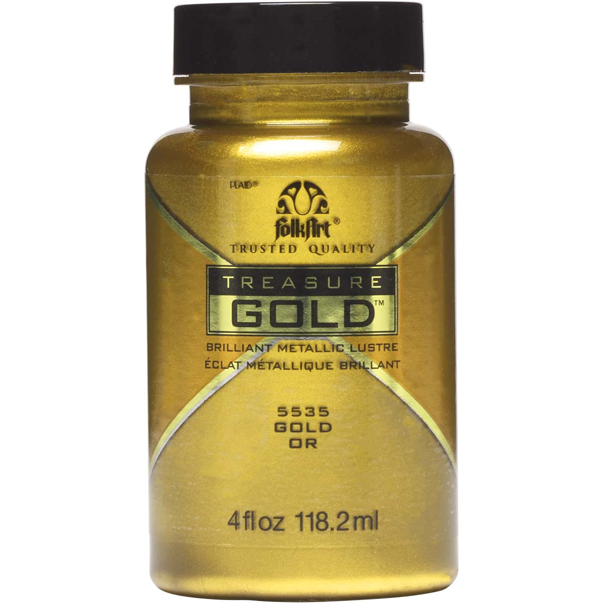FolkArt ® Treasure Gold™ - Gold, 4 oz. - 5535