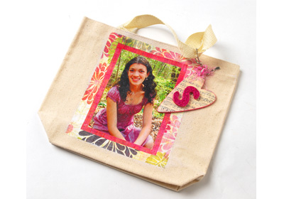 Decoupage Photo Tote