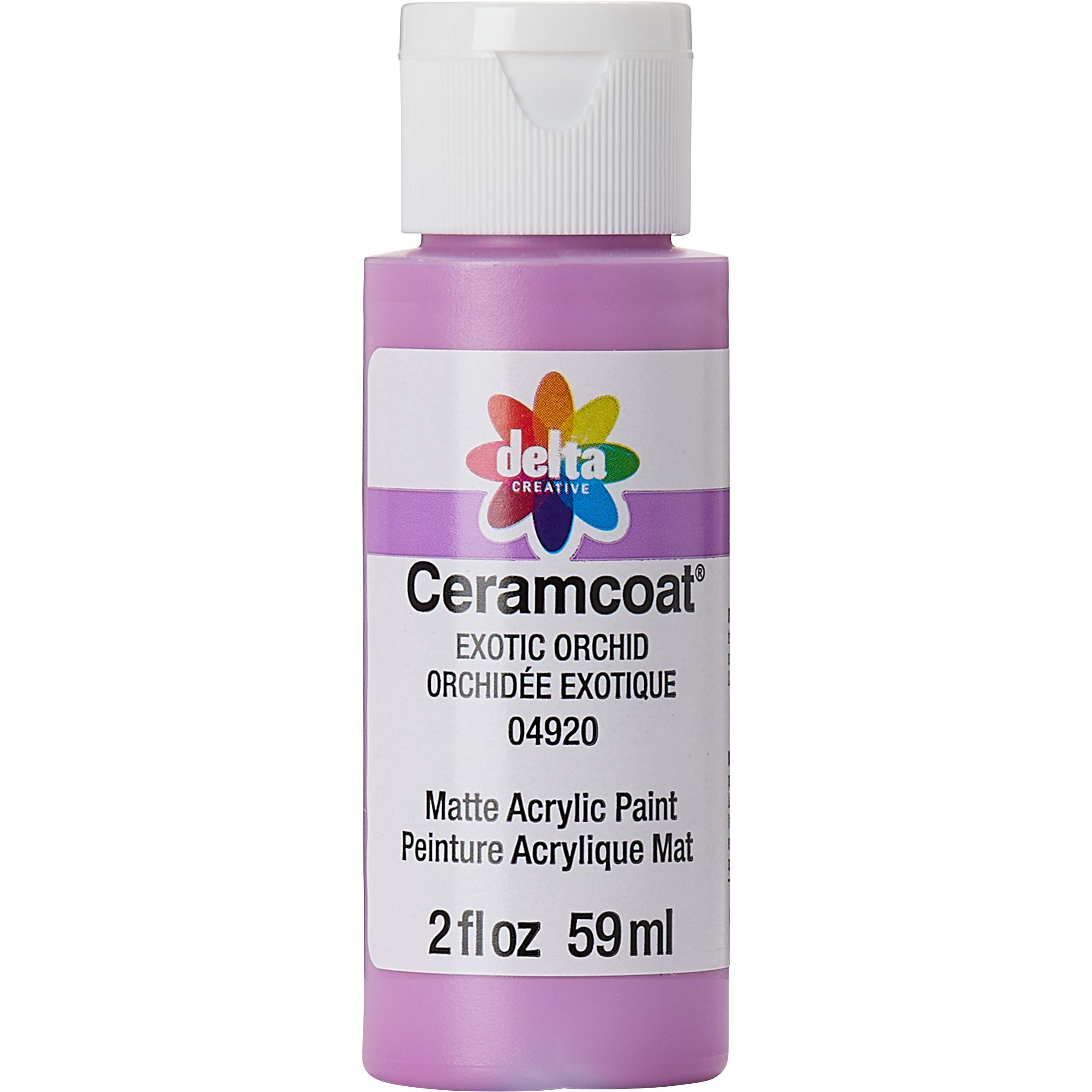 Delta Ceramcoat ® Acrylic Paint - Exotic Orchid, 2 oz. - 04920