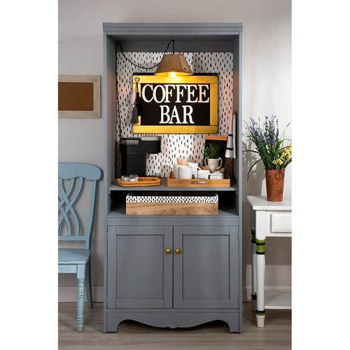 Upcycled Coffee Bar