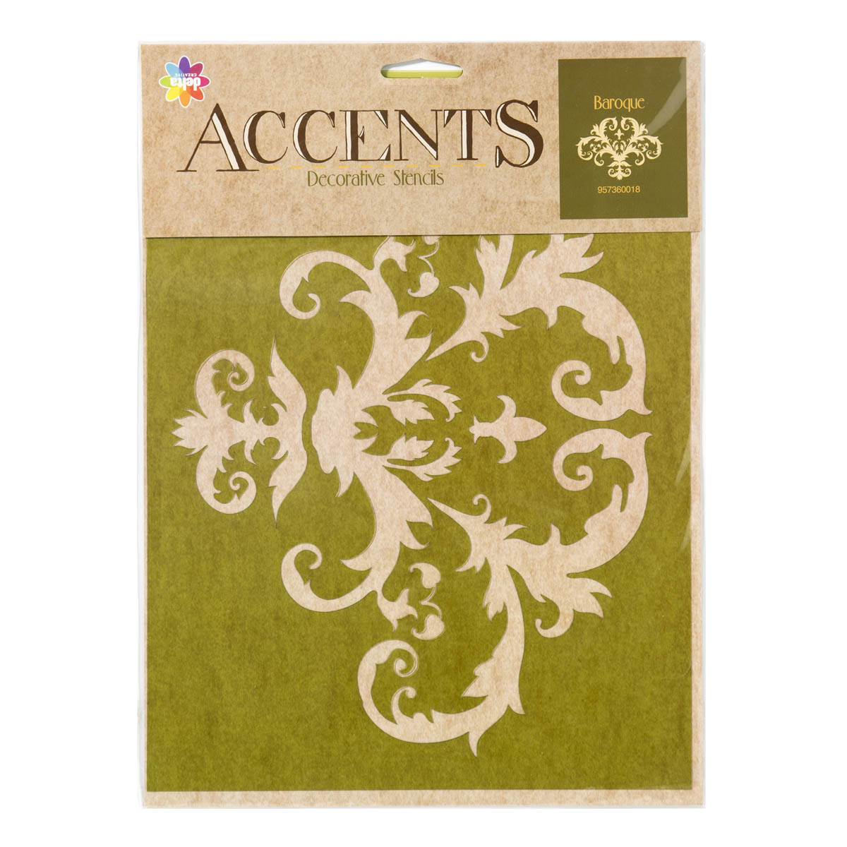 Delta Stencil Magic ® Accents - Baroque