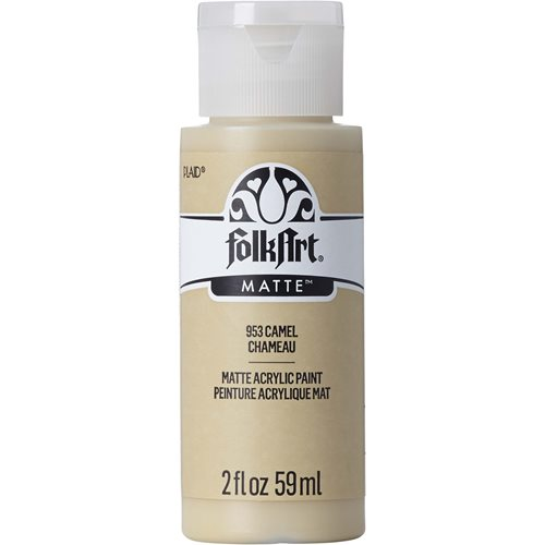 FolkArt ® Acrylic Colors - Camel, 2 oz. - 953