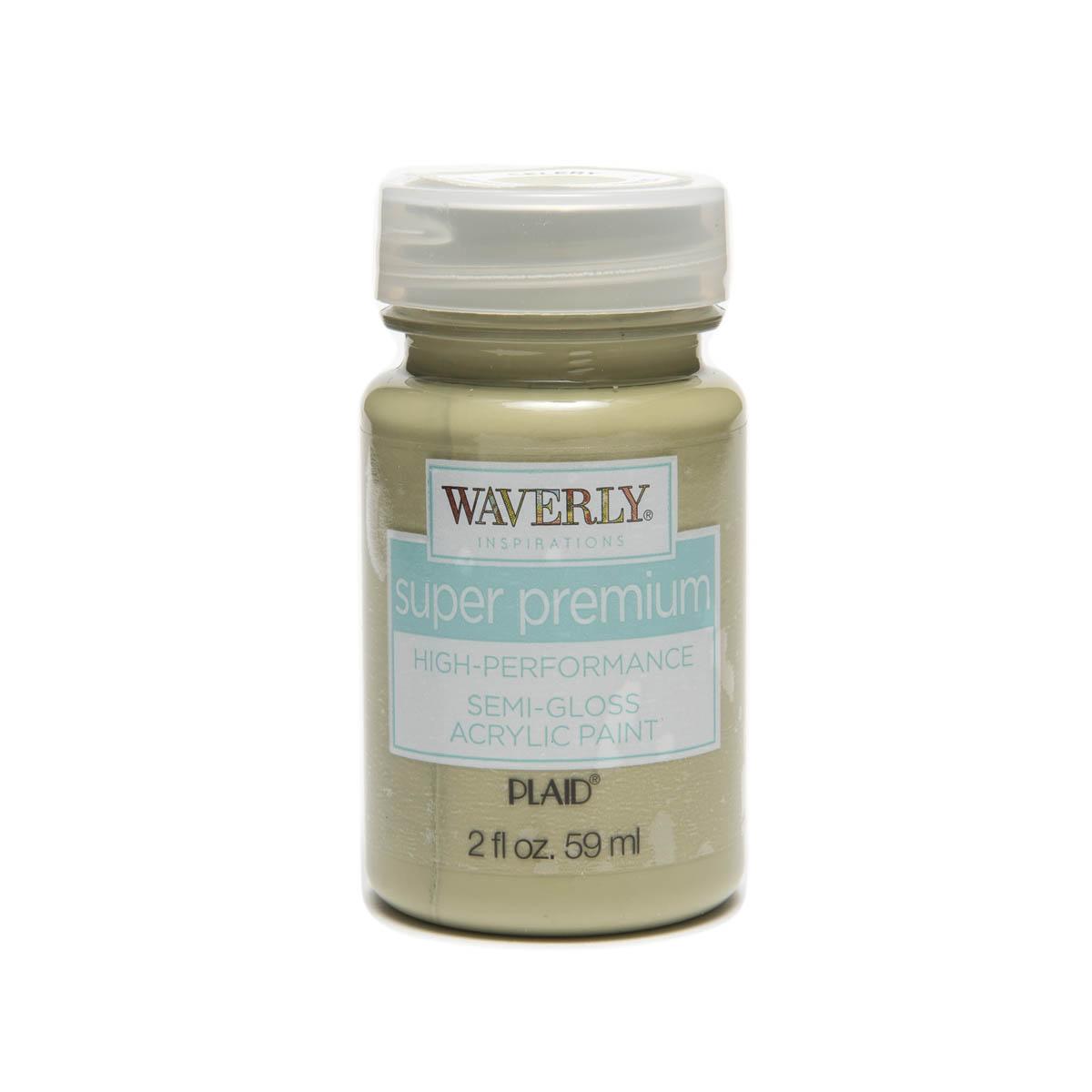 Waverly ® Inspirations Super Premium Semi-Gloss Acrylic Paint - Celery, 2 oz.