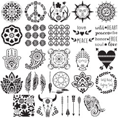 FolkArt ® Stencil Value Packs - Bohemian, 12