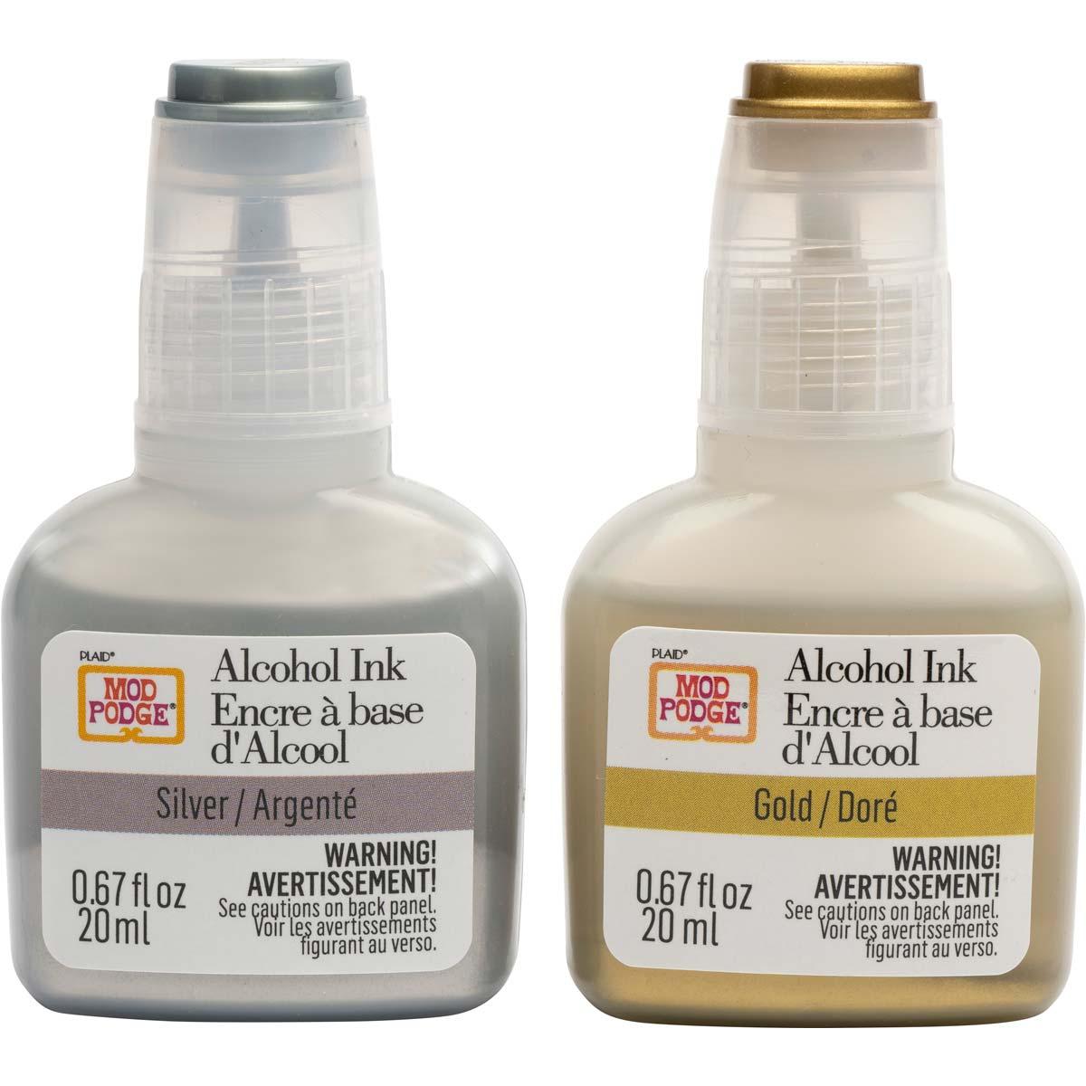 Mod Podge ® Alcohol Ink Set - Metallics, 2 pc. - 25291