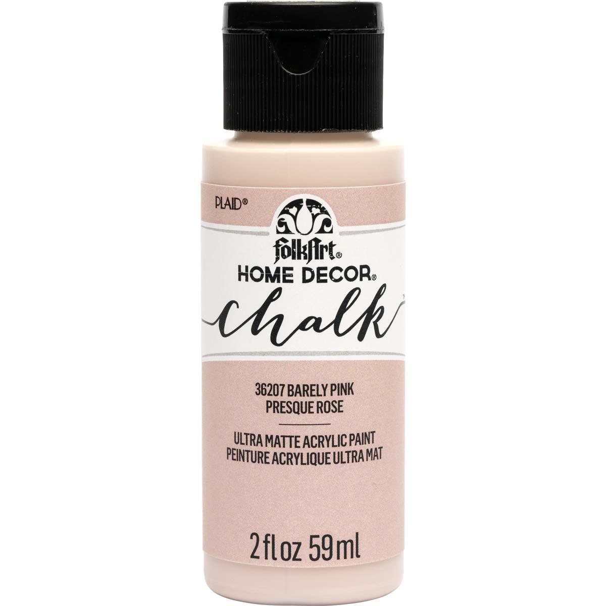 FolkArt Home Decor Chalk - Barely Pink, 2 oz. - 36207