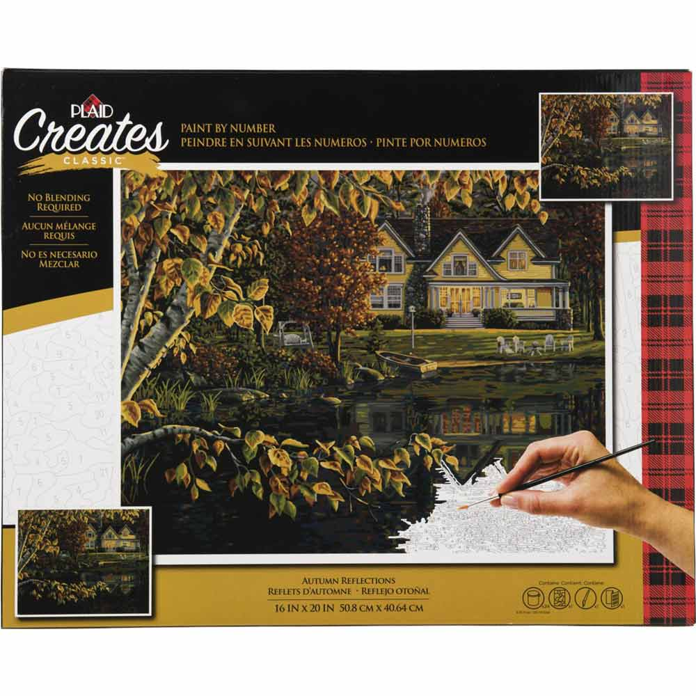 Plaid ® Paint by Number - Autumn Reflections