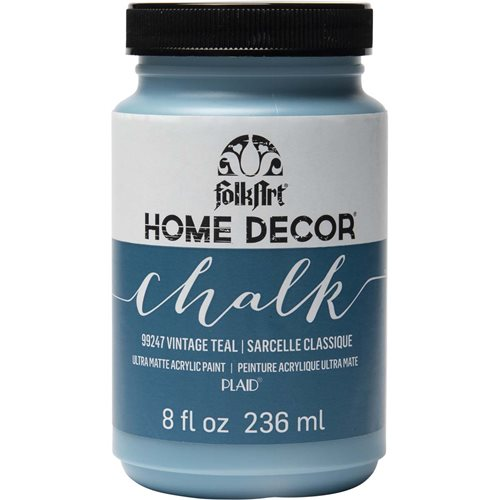 FolkArt ® Home Decor™ Chalk - Vintage Teal, 8 oz. - 99247