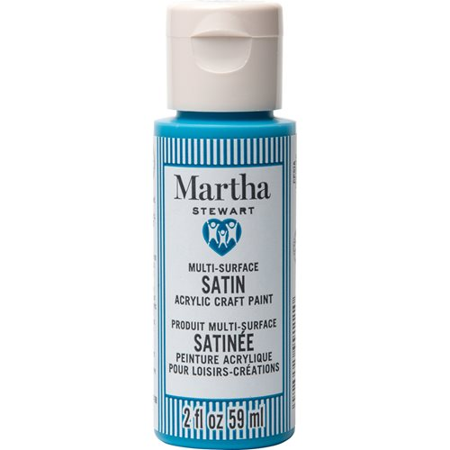 Martha Stewart ® Multi-Surface Satin Acrylic Craft Paint CPSIA - Coastal, 2 oz. - 99111