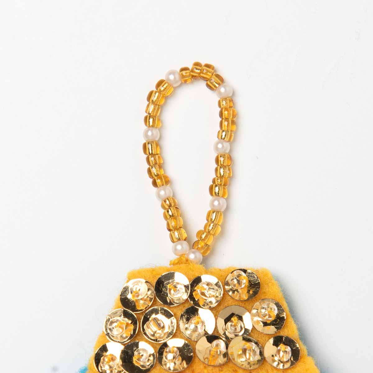 Bucilla ® Seasonal - Felt - Ornament Kits - Hallmark - Pretty Tree Trimmers - 89265E