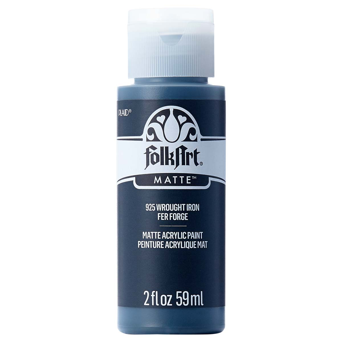 FolkArt ® Acrylic Colors - Wrought Iron, 2 oz. - 925